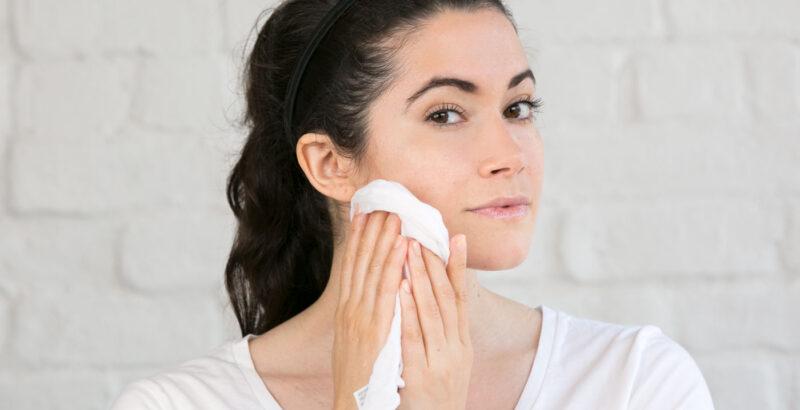 mycie twarzy olejkami